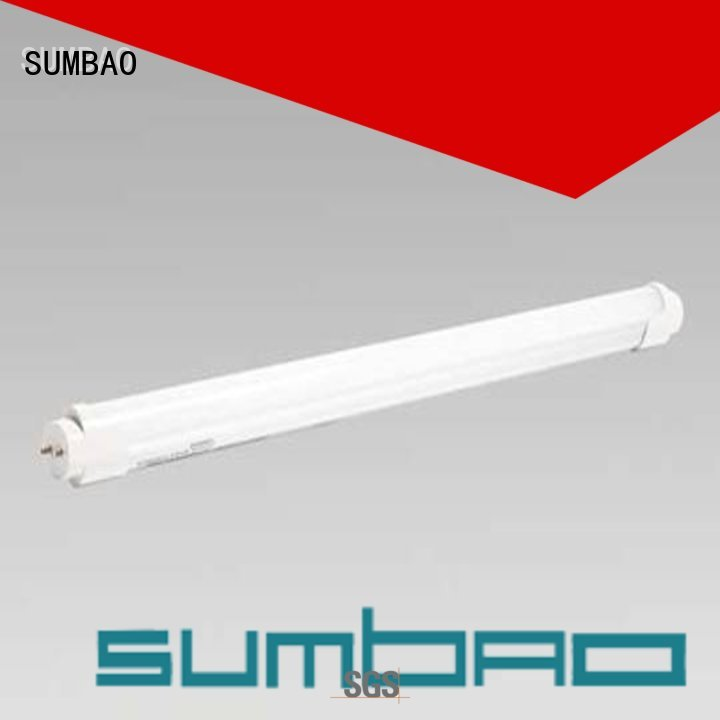 fluorescent Custom 8w LED Tube Light appearance SUMBAO