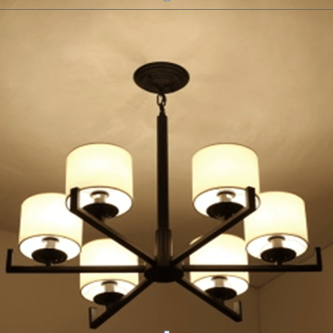 Chinese style pendant lamp