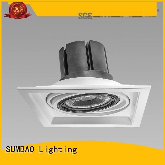 SUMBAO Brand spotlighting dw084 Supermarket LED Recessed Spotlight cob