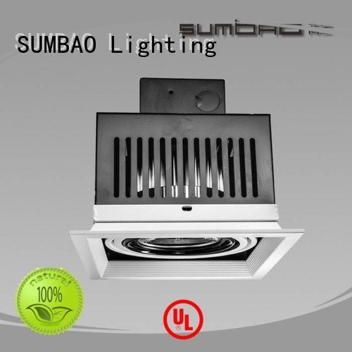 square dw0302 recessed SUMBAO LED Recessed Spotlight