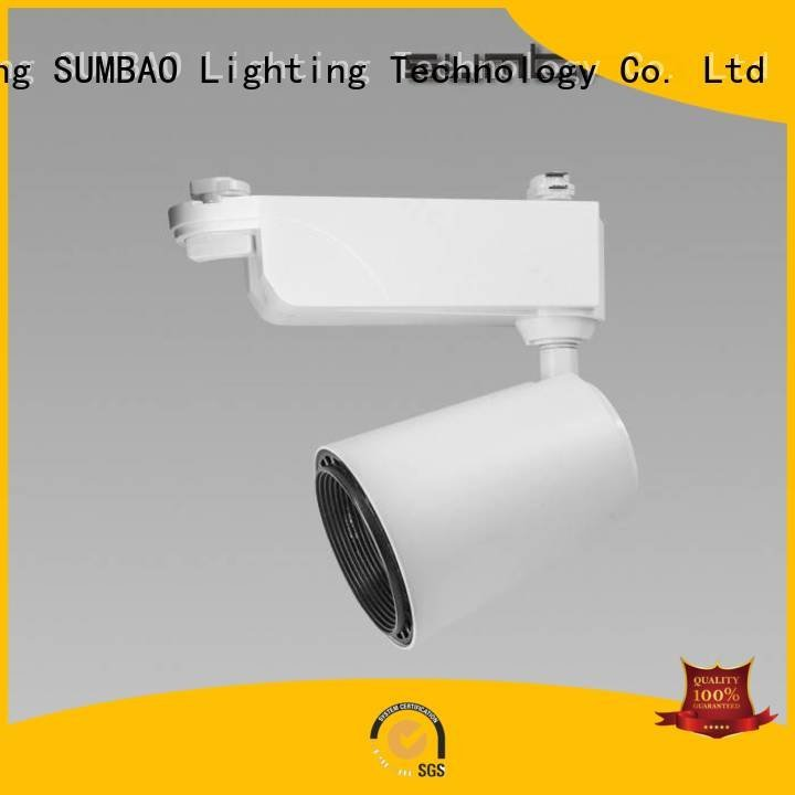 appearance 24w Specification grade AL LED Track Spotlight SUMBAO