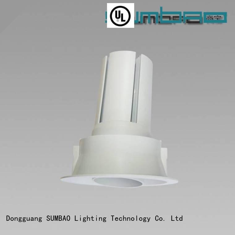 SUMBAO Brand reccessed 10w 4 inch recessed lighting single spots