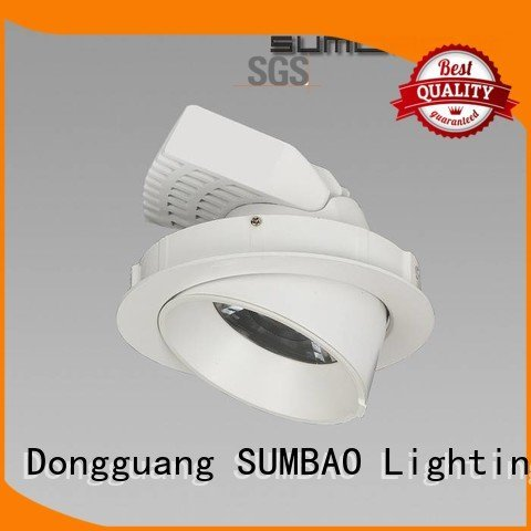 4 inch recessed lighting 33° 5000K Supermarket spotlights SUMBAO