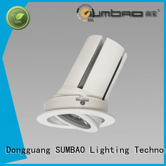SUMBAO Brand residences 4 inch recessed lighting multihead dw0722