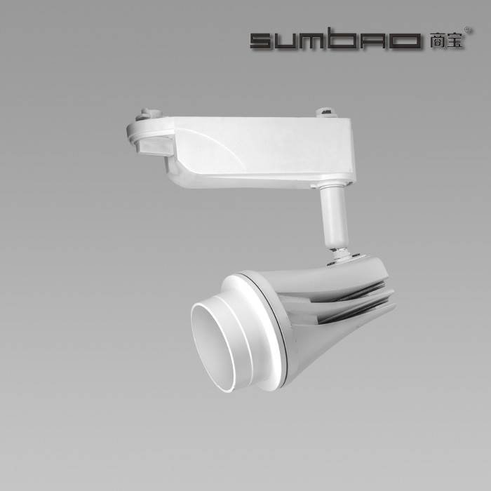 TK036 SUMBAO Lighting Best Seller High Lumen High Brightness Best Quality Distinctive Design 18W Commercial LED Track Spotlight