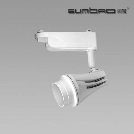 TK036 SUMBAO照明畅销高流明高亮度最佳质量独特设计18W商业LED轨道聚光灯