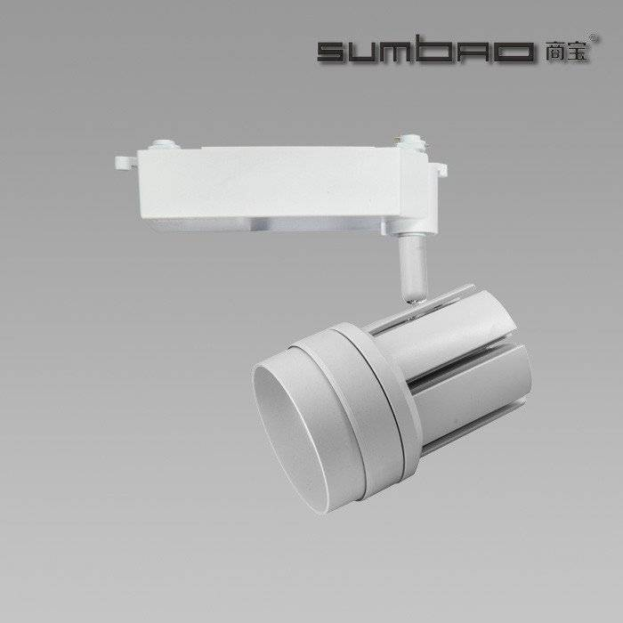 TK038 SUMBAO Lighting Dimmable Imported COB Chip Led 30W Track Light, High CRI Smart Appearance Track Lighting