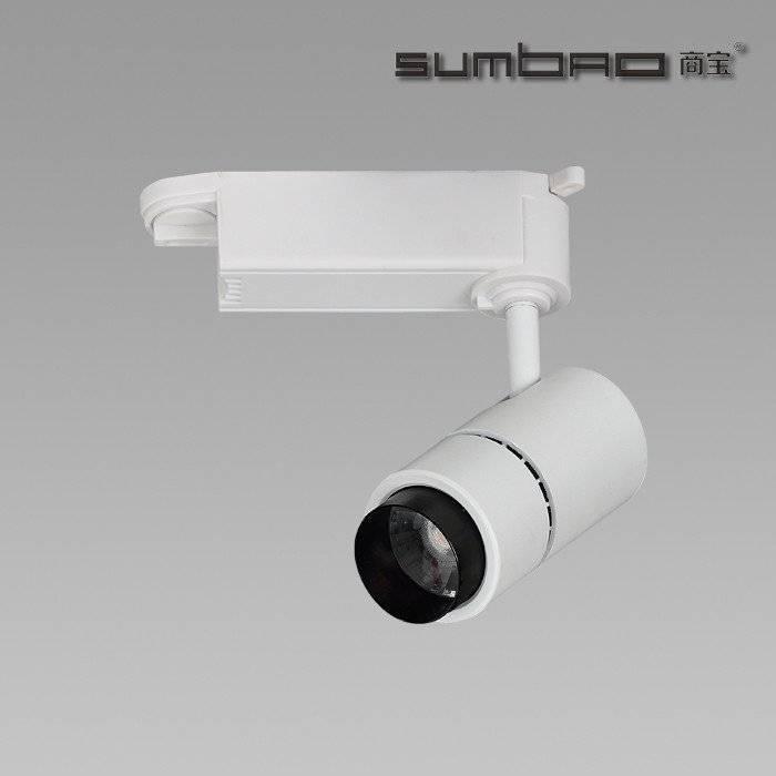 TK011 SUMBAO针对高端零售店应用的照明轨道射灯,适用于重点照明,10W,13°/ 20°/ 38°/ 60°