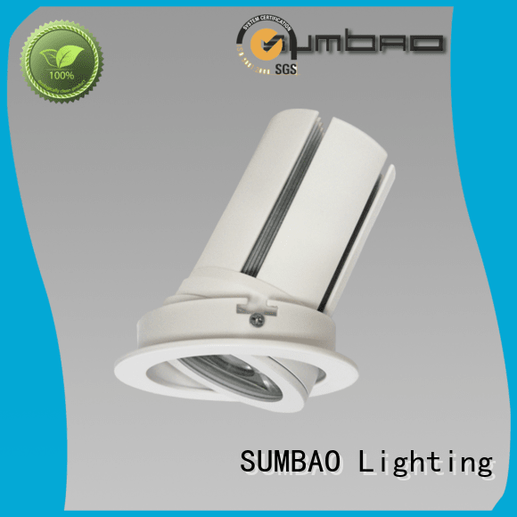 SUMBAO Brand customized 6w 4 inch recessed lighting dw069 voltage
