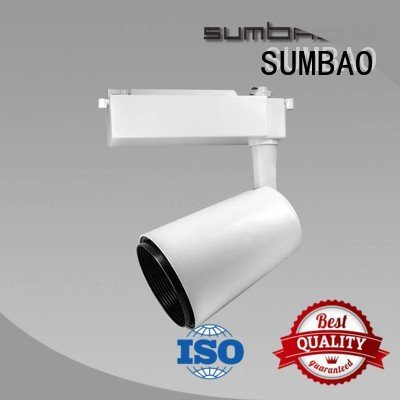 Quality track light bulbs SUMBAO Brand 10w18w24w LED Track Spotlight