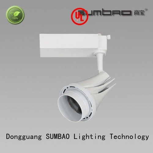 Custom LED Track Spotlight 3000K store lighting SUMBAO