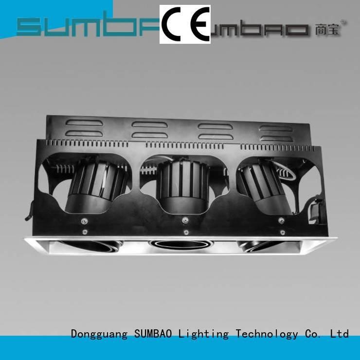 4 inch recessed lighting dw0661 cob OEM LED Recessed Spotlight SUMBAO