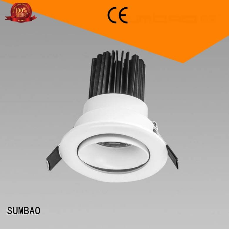 4 inch recessed lighting desk 2700K OEM LED Recessed Spotlight SUMBAO