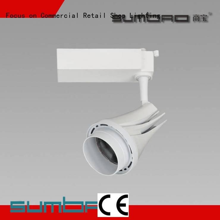 OEM LED  Spotlight 13° appearance commercial track lighting