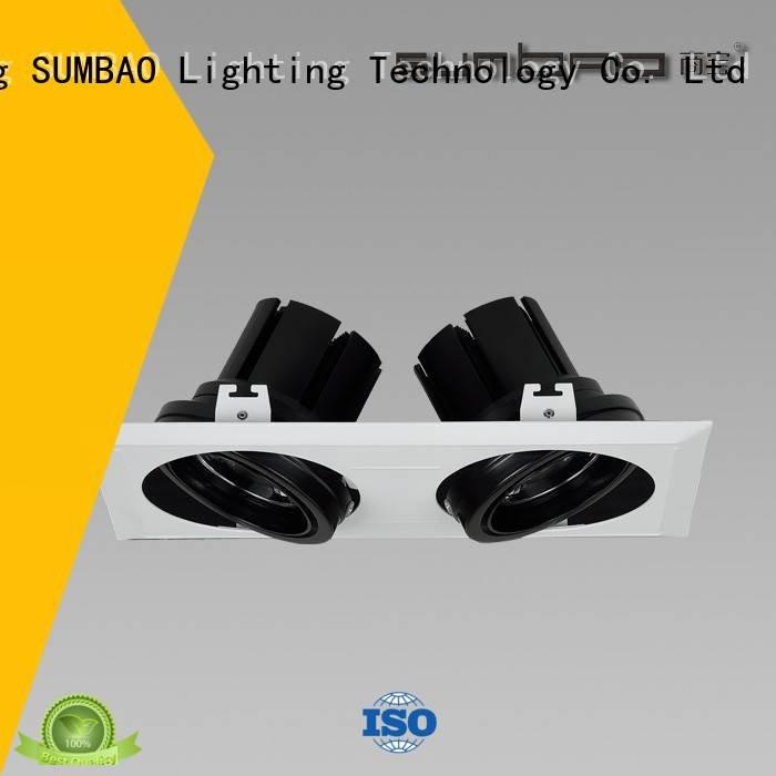 Custom LED Recessed Spotlight trim dw066 dw069 SUMBAO