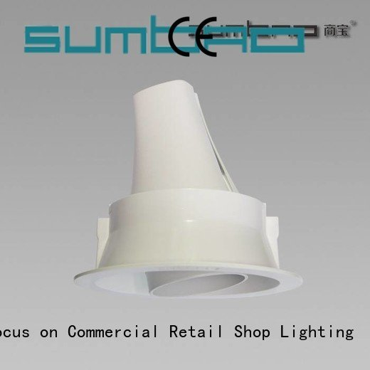 OEM 4 inch recessed lighting dw0153 5000K spotlights LED Recessed Spotlight