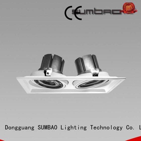 10w commercial cob 4 inch recessed lighting SUMBAO