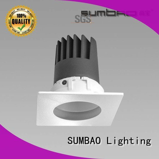 SUMBAO square LED Recessed Spotlight 5000K Supermarket