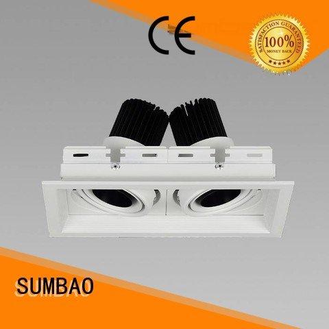 4 inch recessed lighting Imported COB chip LED Recessed Spotlight recessed