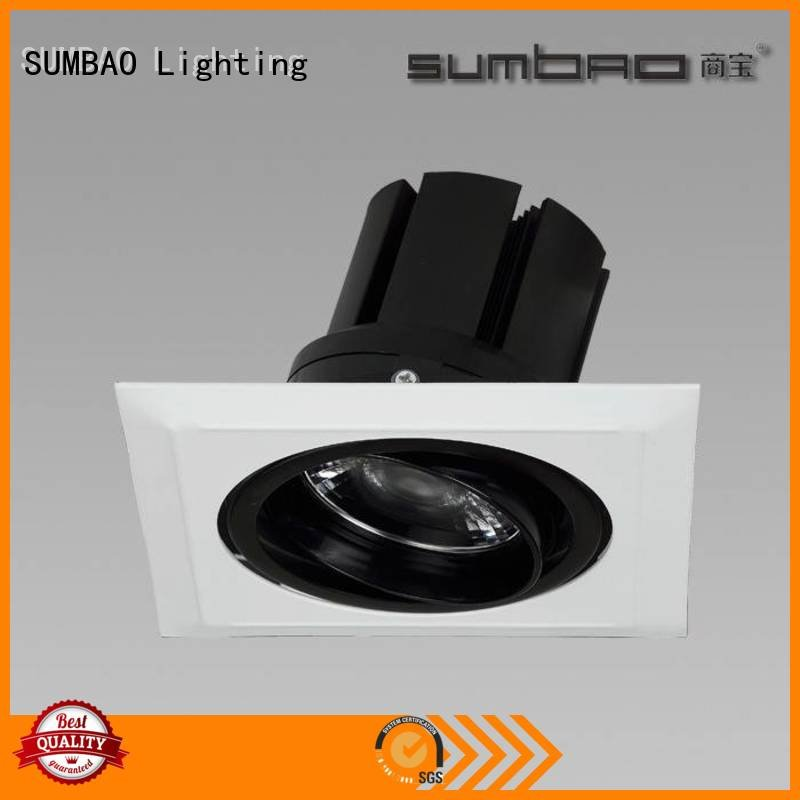 SUMBAO spotlighting accent LED Recessed Spotlight 3x10W/3x18W dw0302
