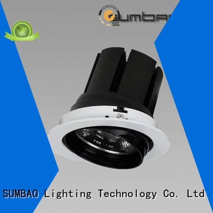 SUMBAO Brand voltage spotlighting multiple LED Recessed Spotlight