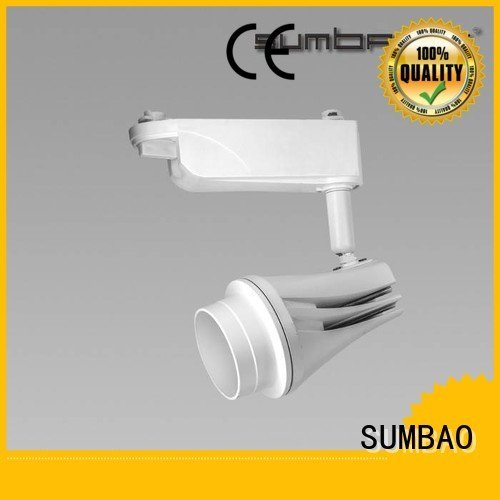 track light bulbs 150mmXΦ52mmX115mm LED Track Spotlight Exhibition room