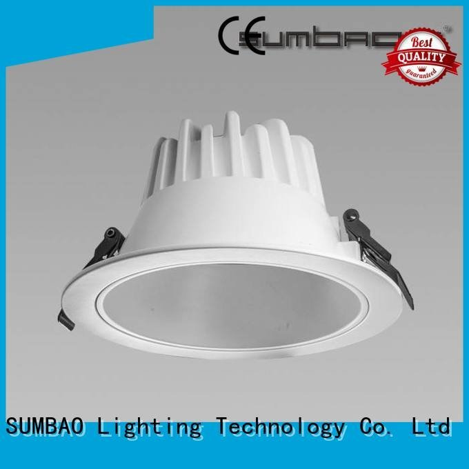 Exhibition room dimmable SUMBAO led downlighter