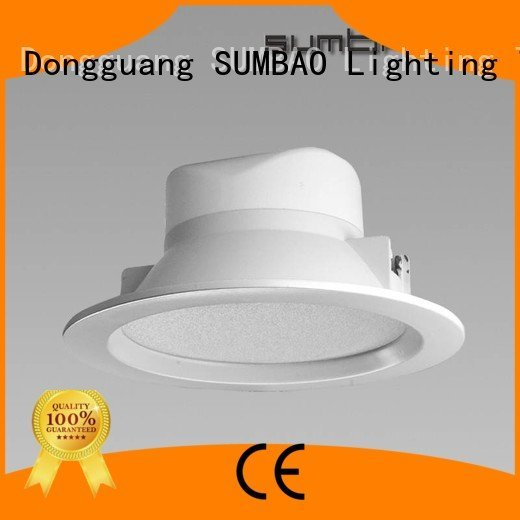 dimmable recessed led downlighter SUMBAO
