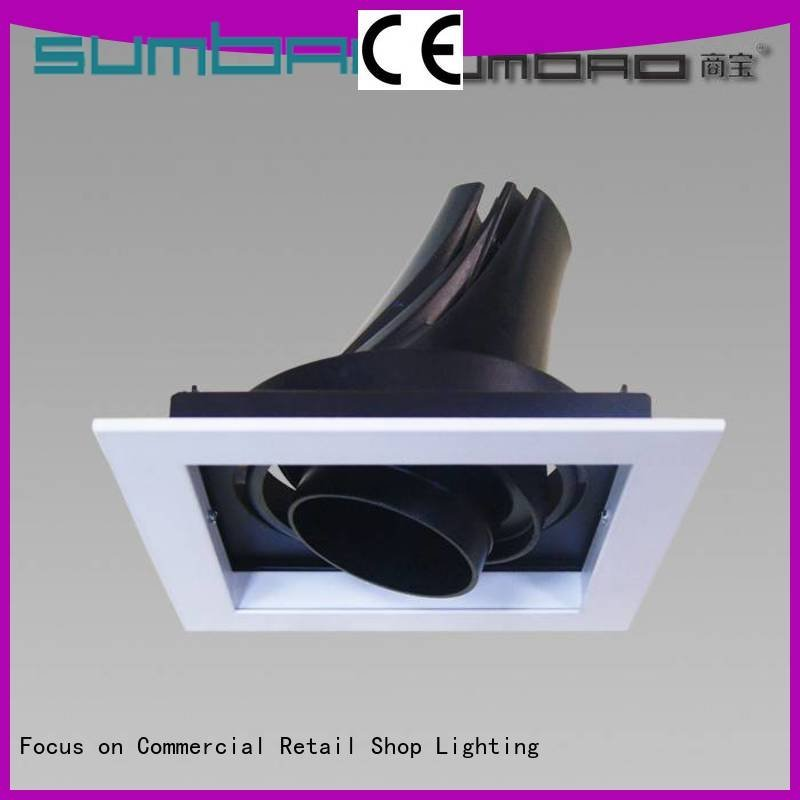 Hot best led recessed lights reviews dw067 LED Recessed Spotlight 6w SUMBAO