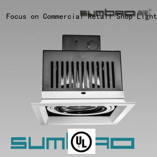 3x10W/3x18W LED Recessed Spotlight recessed dw0312 SUMBAO