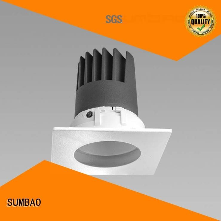 Quality 4 inch recessed lighting SUMBAO Brand 5000K LED Recessed Spotlight