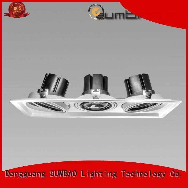 4 inch recessed lighting dw0193 LED Recessed Spotlight 465x155mm SUMBAO