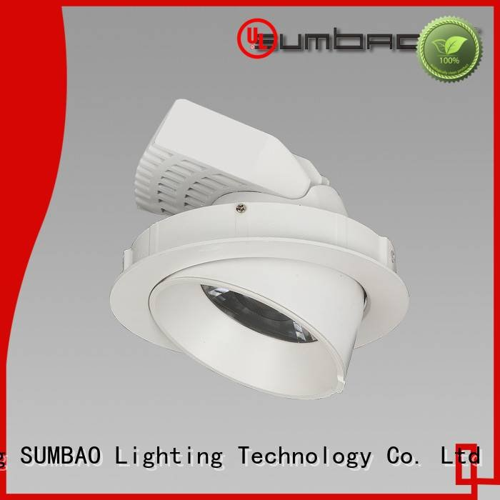 OEM 4 inch recessed lighting 3000K 6w adjustable LED Recessed Spotlight