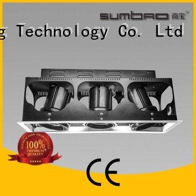 SUMBAO dw076 application LED Recessed Spotlight 10w dw066