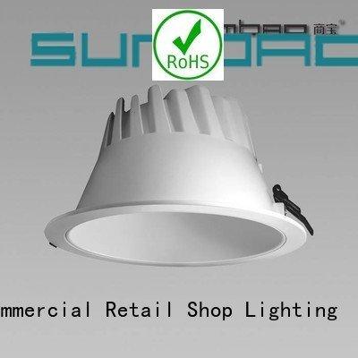 Hot led downlighter low showcase Clothing store SUMBAO Brand