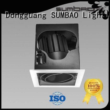 SUMBAO Brand Dumb white cob dw0281 LED Recessed Spotlight