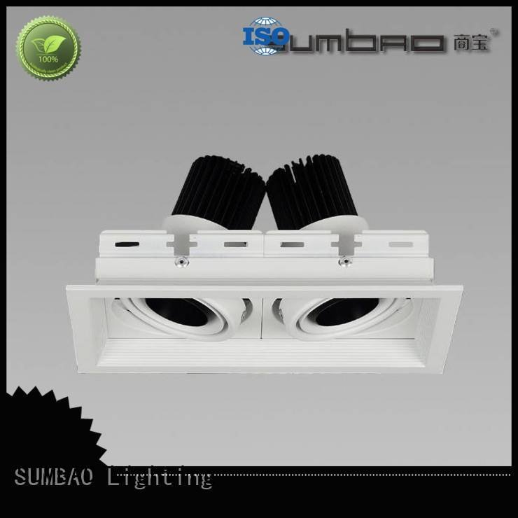 4 inch recessed lighting 3500K multihead LED Recessed Spotlight SUMBAO Warranty