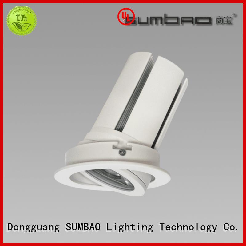 4 inch recessed lighting commercial 2700K ceiling cob SUMBAO