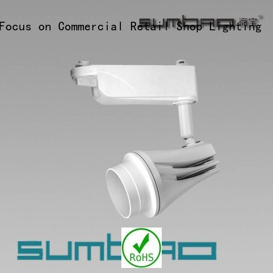 SUMBAO appearance LED Track Spotlight efficiency 13°20°38°60°