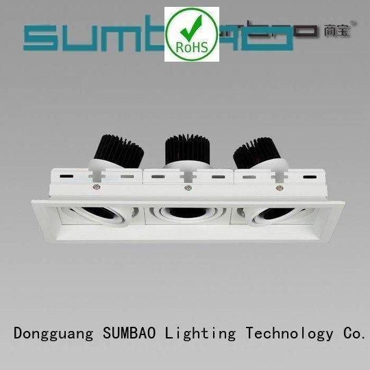 dw073 singlehead downlighting 2700K SUMBAO 4 inch recessed lighting