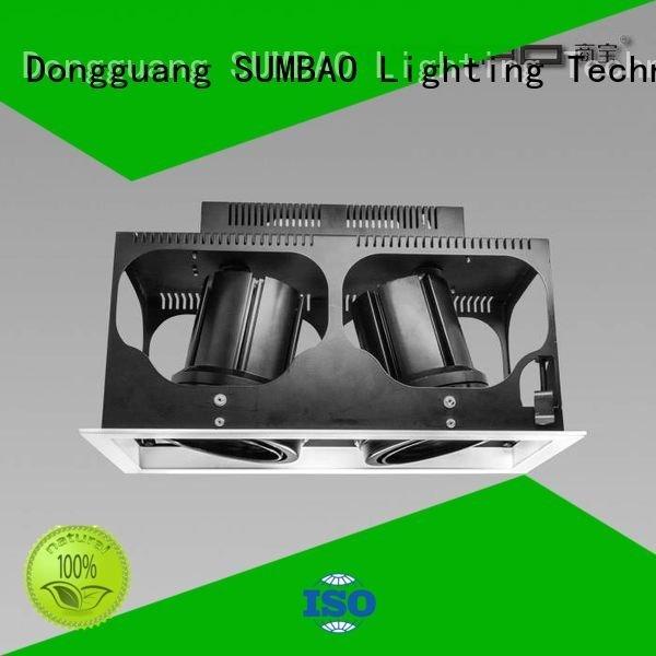 4 inch recessed lighting luminaries residences OEM LED Recessed Spotlight SUMBAO