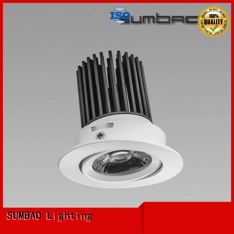 4 inch recessed lighting spotlighting SUMBAO Brand LED Recessed Spotlight