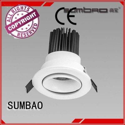 SUMBAO grid cree Specification grade AL 4 inch recessed lighting 12°
