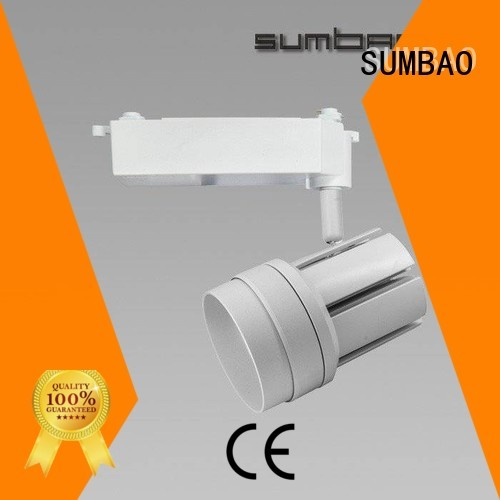 SUMBAO Brand Dumb white ideal track light bulbs 150mmXΦ52mmX115mm