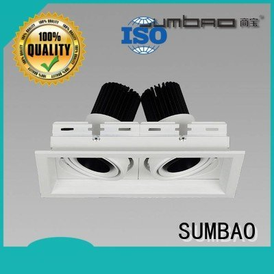 SUMBAO Brand spotlights 4 inch recessed lighting luminaires residences