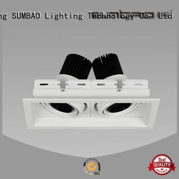 Hot 4 inch recessed lighting square Supermarket retail SUMBAO Brand