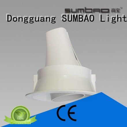 10w 485x180x147mm customized professional SUMBAO LED Recessed Spotlight