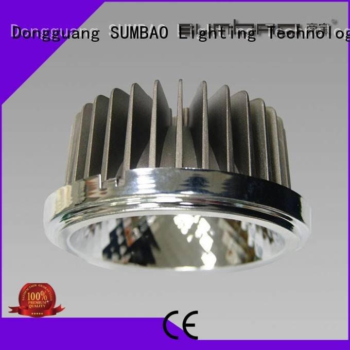 SUMBAO Brand square Exhibition room trunk LED Recessed Spotlight