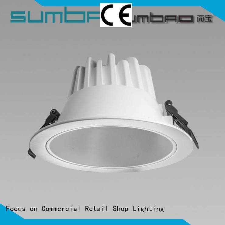 kitchen ceiling downlights recessed cri angle SUMBAO