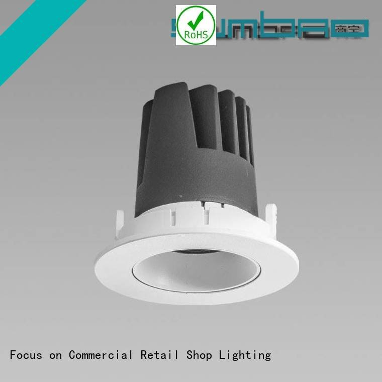 SUMBAO Dumb white 6w LED Recessed Spotlight dw0301 multihead
